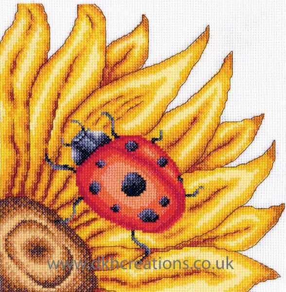 The Ladybird Cross Stitch Kit